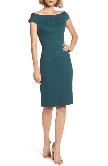 Adrianna Papell Sheath Dress (Regular & Petite)