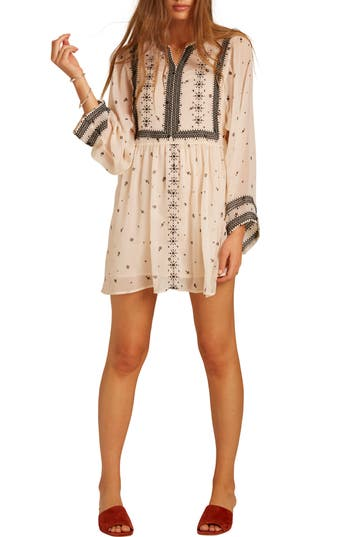 Love Like Summer x Billabong Chiffon Babydoll Dress