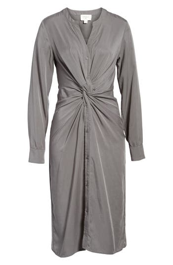 Everly Twist Front Shirtdress