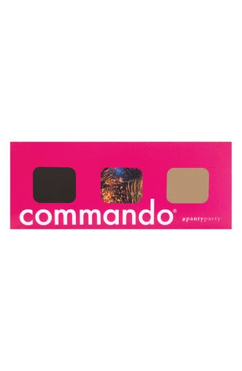 Commando Panty Party - Microfiber 3-Pack Thongs