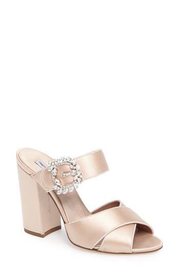 Tabitha Simmons Reyner Crystal Buckle Sandal (Women)