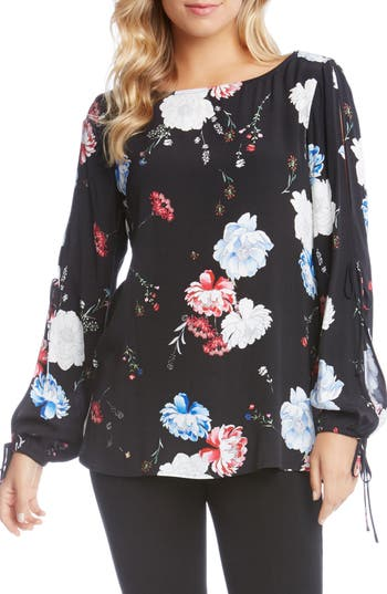 Karen Kane Split Sleeve Top