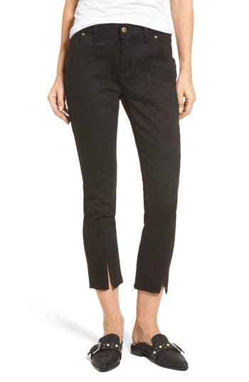 EVIDNT Hermosa Vented Crop Skinny Jeans