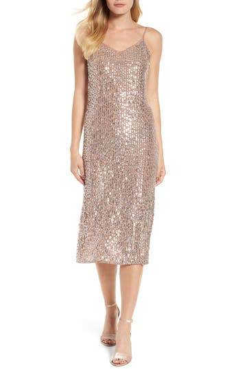 Velvet by Graham & Spencer Sequin Slipdress