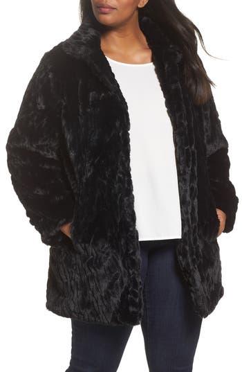 Dorothy Perkins Faux Fur Coat (Plus Size)