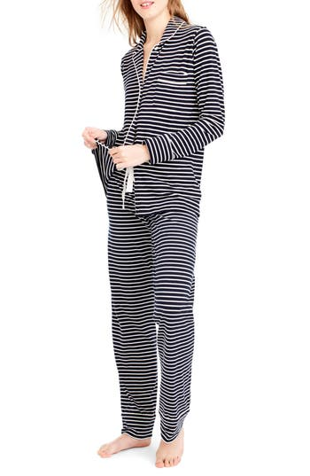 J.Crew Dreamy Stripe Pajamas
