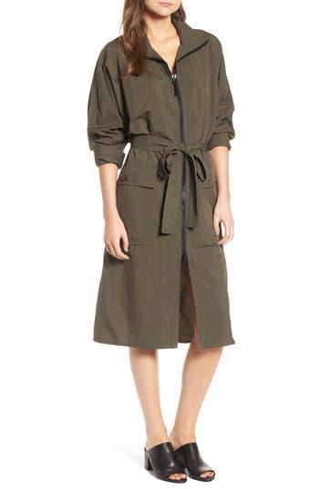 James Perse Zip Front Jacket Dress