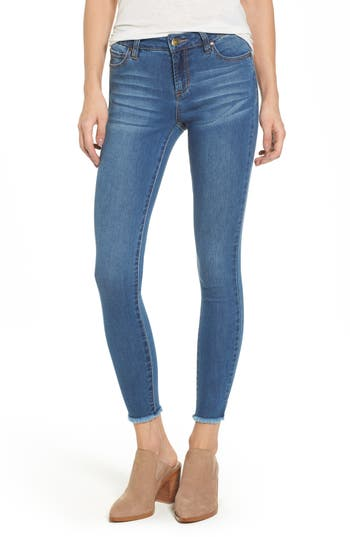 Tinsel Crop Skinny Jeans