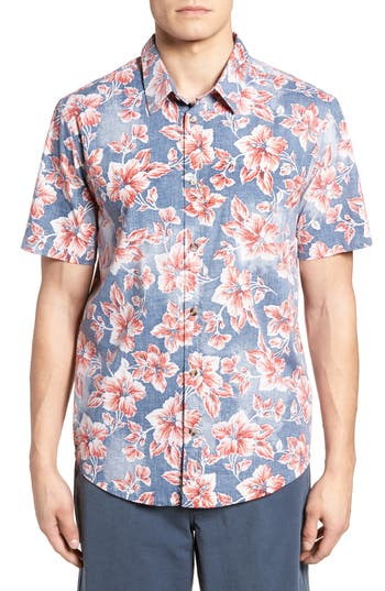 Jack ONeill Luau Regular Fit Short Sleeve Sport Shirt