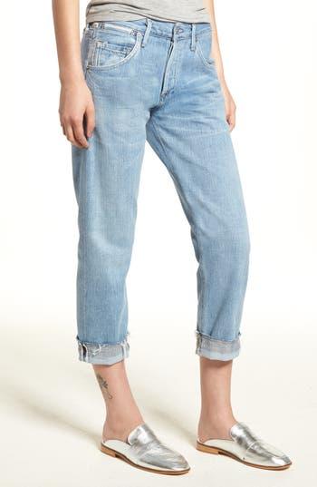 Citizens Of Humanity Emerson Crop Slim Boyfriend Jeans Capri