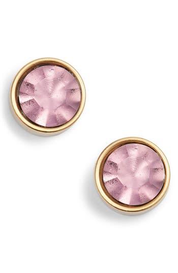 Bezel Set Stud Earrings by Loren Hope