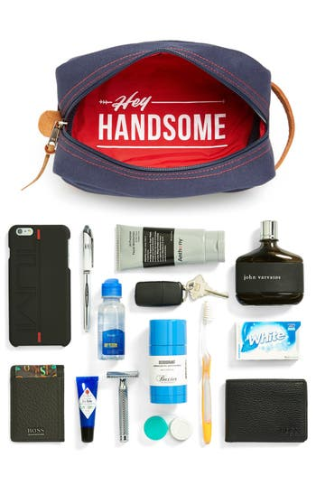 Alternate Image 5  - Owen & Fred 'Hey Handsome' Travel Kit