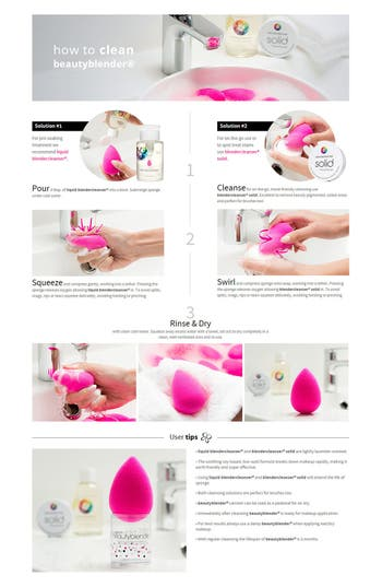 Alternate Image 4  - beautyblender® Makeup Sponge Applicator