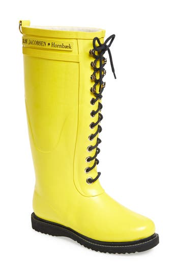 Ilse Jacobsen Hornb?k Rubber Boot (Women) (Wide Calf)