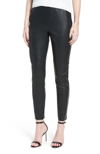 cupcakes and cashmere 'Liliana' Faux Leather Leggings