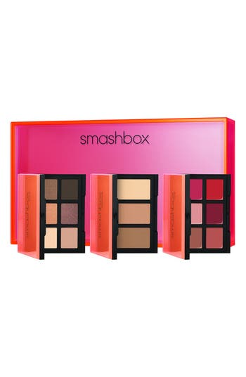 Alternate Image 1 Selected - Smashbox Light It Up Mini Eye, Lip & Contour Palette Trio (Limited Edition) ($90 Value)