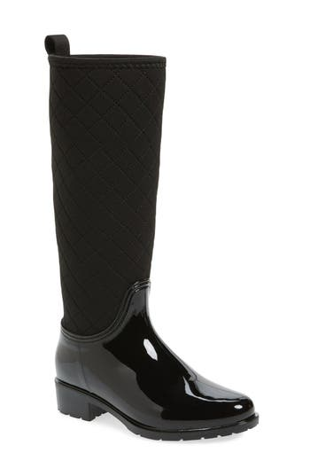 d?v Parma Quilted Tall Waterproof Rain Boot (Women)