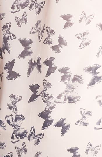 Alternate Image 3  - Evans Butterfly Print High/Low Top (Plus Size)