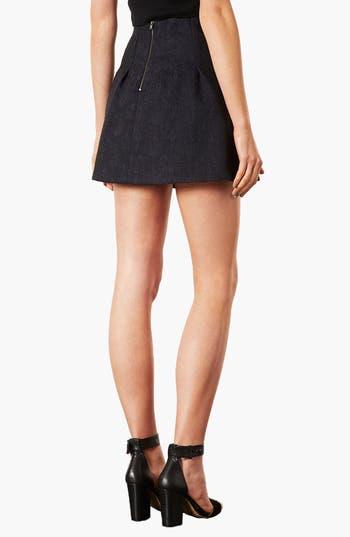 Alternate Image 2  - Topshop 'Lexie' Jacquard Full Skirt