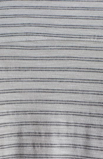 Alternate Image 3  - James Perse Stripe Slub Jersey Button Up