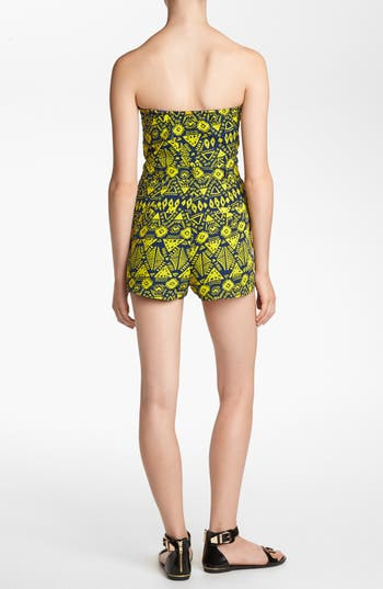 Alternate Image 2  - Lucca Couture Print Romper