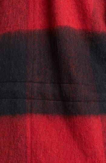 Alternate Image 3  - BB Dakota Faux Fur Trim Buffalo Plaid Anorak
