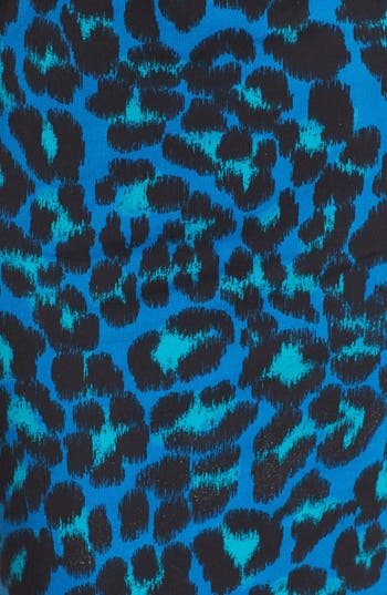 Alternate Image 3  - WAYF Leopard Spot Body-Con Dress