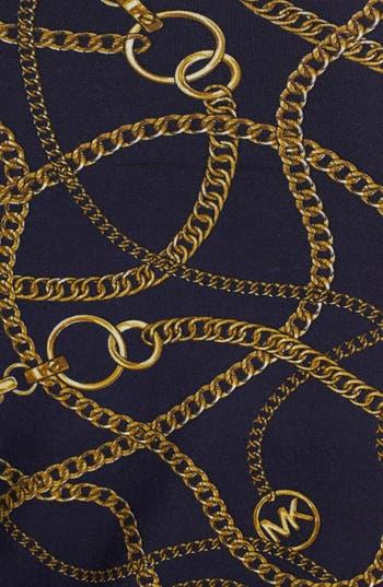 Alternate Image 3  - MICHAEL Michael Kors Studded Cowl Neck Print Top (Plus Size)