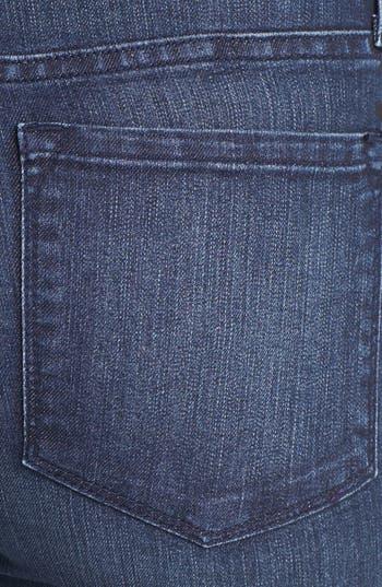 Alternate Image 4  - NYDJ 'Sheri' Lace Detail Stretch Skinny Stretch Jeans (Old River)