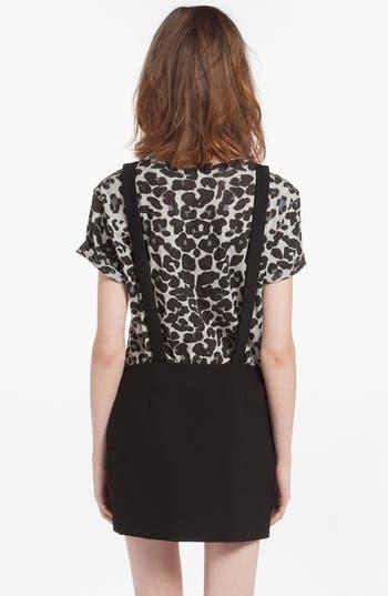 Alternate Image 2  - maje 'Dinard' Faux Wrap Miniskirt