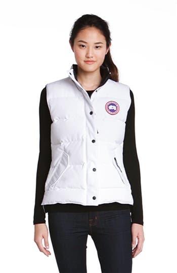 'Freestyle' Slim Fit Down Vest, video thumbnail