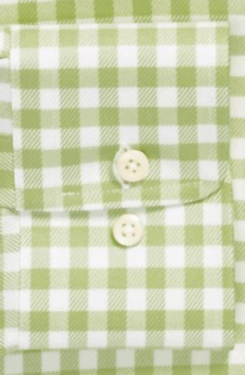 Alternate Image 2  - David Donahue Twill Gingham Regular Fit Dress Shirt