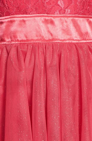 Alternate Image 3  - Trixxi Lace Bodice Fit & Flare Dress (Juniors)