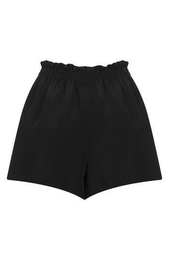 Alternate Image 2  - Topshop Boutique Silk Shorts