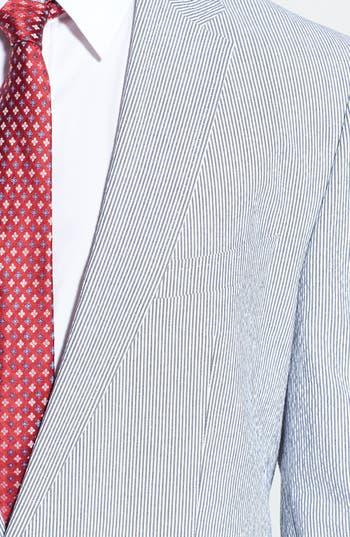 Alternate Image 5  - BOSS HUGO BOSS 'Nestor/Knox' Trim Fit Stretch Cotton Suit