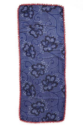 Alternate Image 2  - Halogen® 'Ink Floral' Scarf