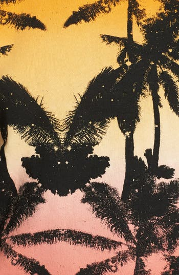 Alternate Image 3  - Volcom 'All Mine' Palm Print Pullover (Juniors)