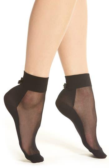 kate spade new york bow anklet socks