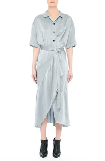 Emily Silk Shirtdress, video thumbnail