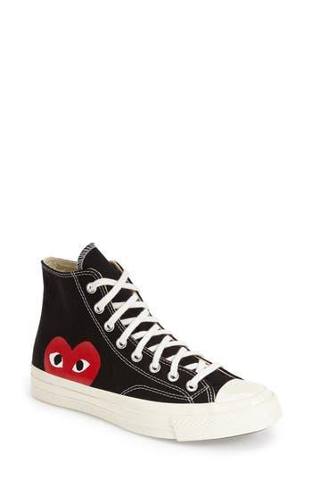 Comme des Gar?ons PLAY x Converse Chuck Taylor? Hidden Heart High Top Sneaker (Women)
