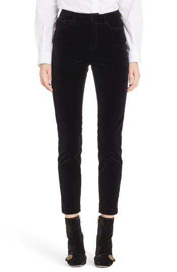 Dolce&Gabbana Velvet Crop Pants