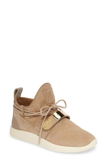Giuseppe Zanotti Gold Band Sneaker (Women)