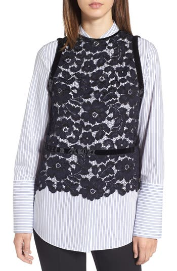 Lewit Sheer Lace Top
