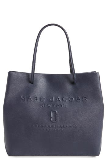 MARC JACOBS Logo Leather S..