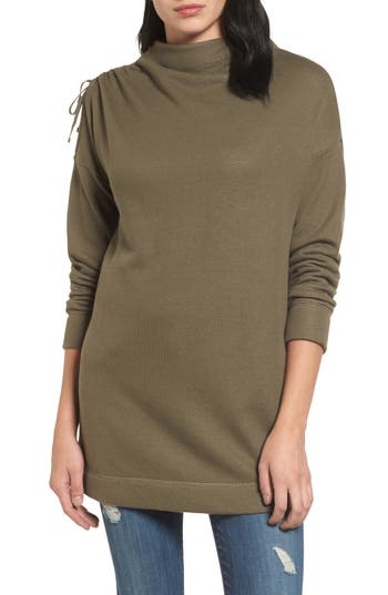 Caslon® Open Shoulder Sweatsh..