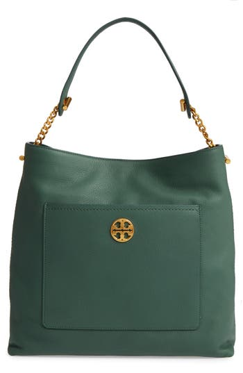 Tory Burch Chelsea Chain Leath..