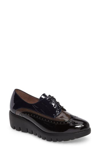 Wonders Wedge Wingtip Derby (Women)