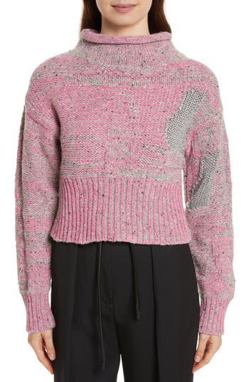 3.1 Phillip Lim Wool Blend Funnel Neck Sweater