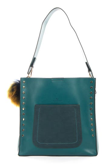 C?line Dion Pizzicato Faux Leather Hobo Bag