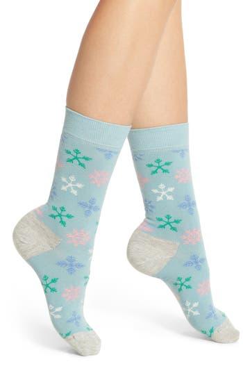 Happy Socks Snowflake Crew..